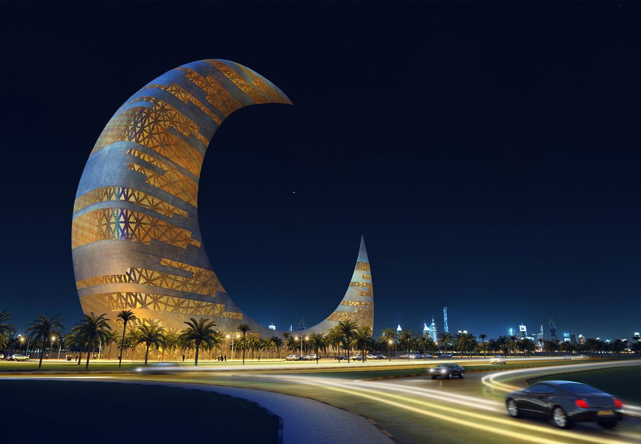 A New Skyscraper of Dubai – Crescent Moon Tower