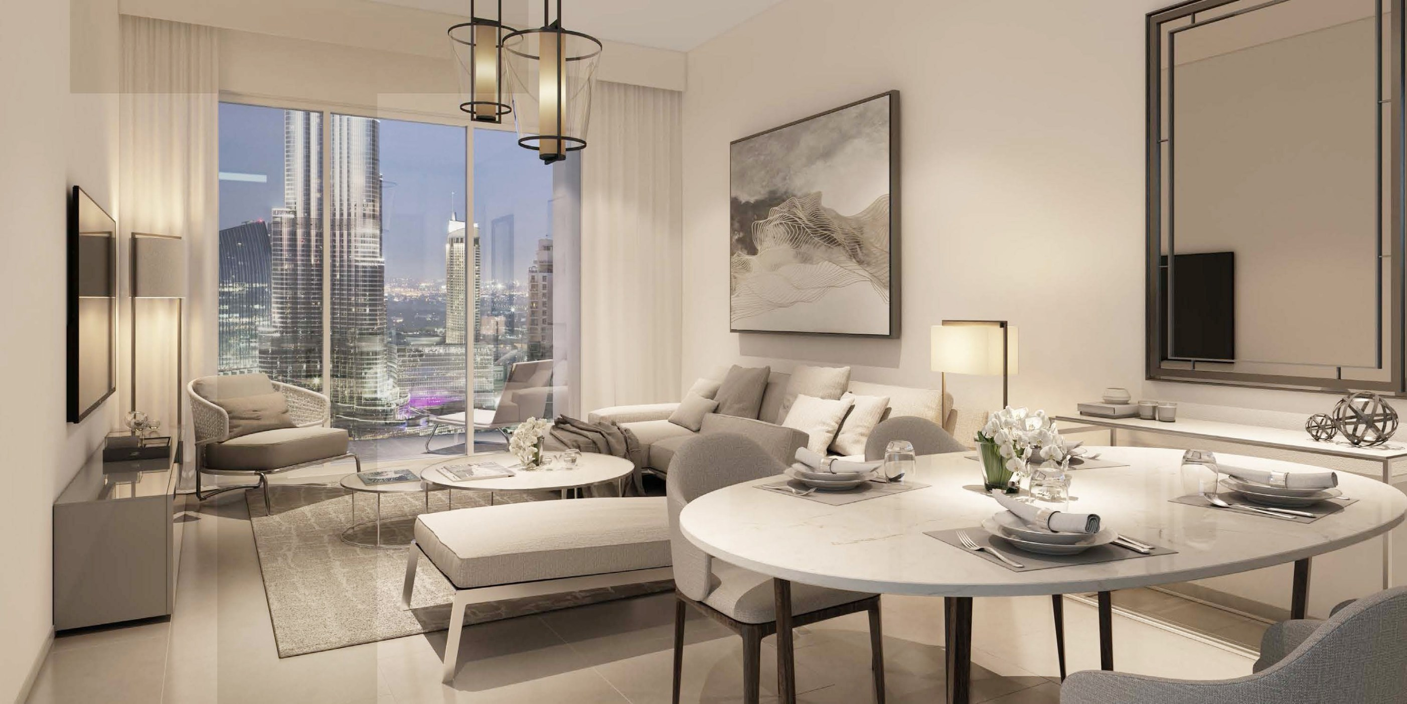 Act One Act Two Apartment Dubai with Burj Khalifa View