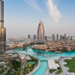 Downtown Dubai with Burj Khalifa View