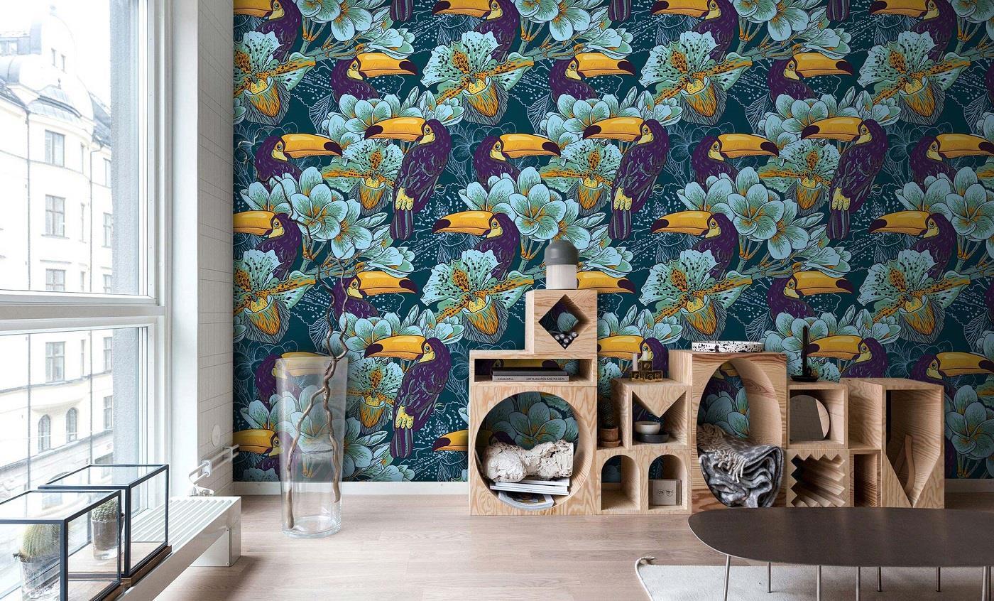 Interior Design Trend Floral Patterns