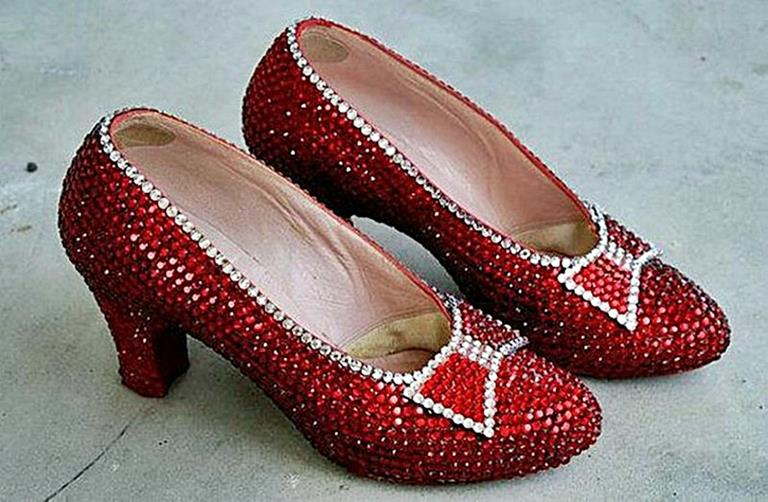 Ruby Slippers from the House of Harry Winston