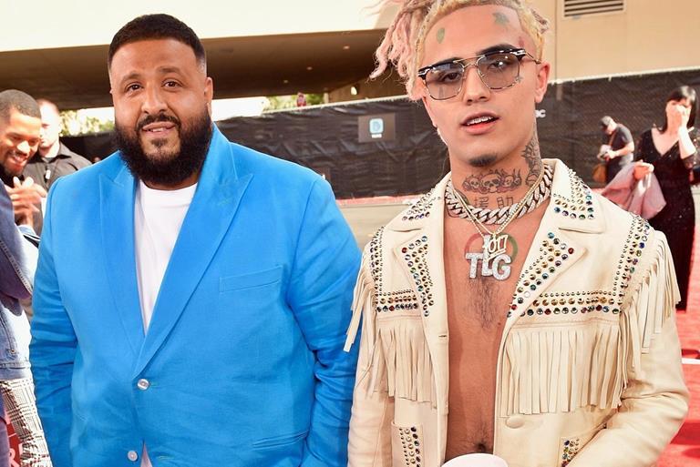 Lil Pump Works with DJ Khaled
