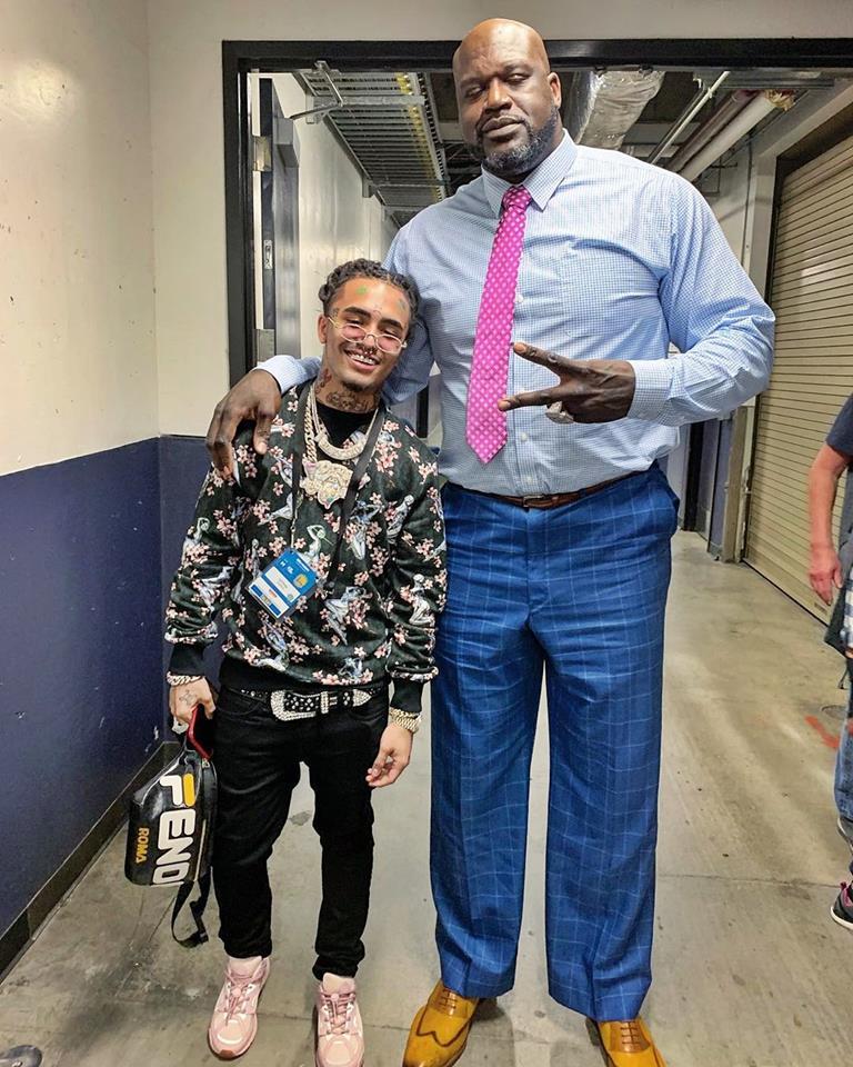 Lil Pump with Shaq